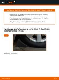 Jak przeprowadzić wymianę: Łożysko koła w VW GOLF