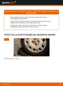 Come effettuare una sostituzione di Cuscinetto Ruota su 1.2 60 Fiat Punto 188