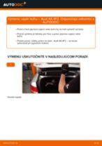 Odporúčania od automechanikov k výmene AUDI Audi A6 4f2 2.0 TDI Brzdový kotouč