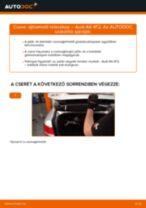 Online kézikönyv – saját kezű AUDI A6 (4F2, C6) Hátsólámpa izzó csere