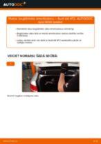 Soli-pa-solim PDF apmācība kā nomaināms AUDI A6 (4F2, C6) Bagāžnieka Amortizatori