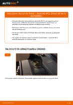 Schimbare Set discuri frana AUDI A6: pdf gratuit