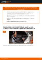 Montare Discuri frana AUDI A6 (4F2, C6) - tutoriale pas cu pas