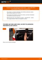 Land Rover Discovery L550 Fernscheinwerfer Glühlampe wechseln Anleitung pdf