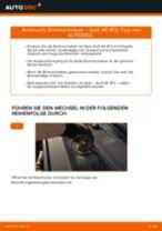 Wechseln von Bremsscheibe AUDI A6: PDF kostenlos
