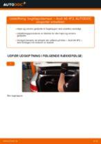Udskift bagklapsdæmper - Audi A6 4F2 | Brugeranvisning