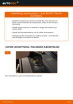 Manuel PDF til vedligeholdelse af A6