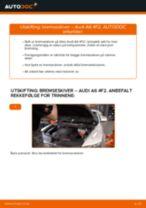 Skifte Fjernlyspære AUDI A6: verkstedhåndbok