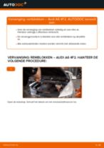 Hoe remblokken vooraan vervangen bij een Audi A6 4F2 – vervangingshandleiding