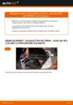 Comment changer : plaquettes de frein avant sur Audi A6 4F2 - Guide de remplacement