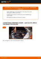 Udskift bremseklodser for - Audi A6 4F2 | Brugeranvisning