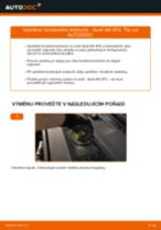 Online průvodce zdarma jak obnovit Sada na opravy, podpora / kloub AUDI A6 (4F2, C6)