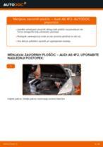 Menjava spredaj in zadaj Zavorne Ploščice AUDI A6 (4F2, C6): vodič pdf