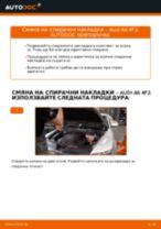 Как се сменят предни спирачни накладки на Audi A6 4F2 – Ръководство за смяна