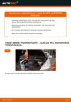 Audi A6 C6 Allroad remont ja hooldus juhend