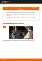 Mainīties AUDI A6 (4F2, C6) Riteņa rumbas gultnis - soli-pa-solim pamācības PDF
