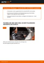 AUDI A6 (4F2, C6) Axialgelenk wechseln Anleitung pdf