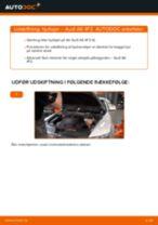Trin-for-trin reparationsvejledning til Audi A6 4f2