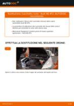 Cambiare Cuscinetto Ruota AUDI A6: manuale tecnico d'officina