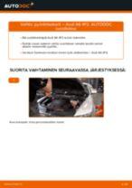 AUDI huolto - käsikirja pdf