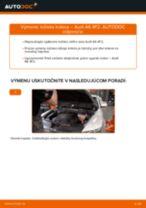 AUDI Lozisko kolesa predné vľavo vpravo vymeniť vlastnými rukami - online návody pdf