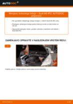Zamenjavo Kolesni lezaj AUDI A6: brezplačen pdf