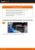 Wymiana Klocki Hamulcowe PEUGEOT 206: instrukcja napraw