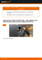 Wann Spritfilter tauschen: PDF Anweisung für OPEL MERIVA