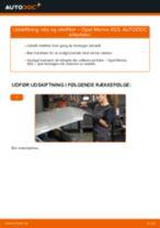 MANN-FILTER W 712 til Meriva A (X03) | PDF udskiftnings guide