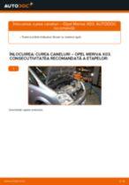 Cum să schimbați: curea caneluri la Opel Meriva X03 | Ghid de înlocuire