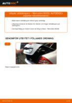 Bilmekanikers rekommendationer om att byta MERCEDES-BENZ Mercedes W202 C 250 2.5 Turbo Diesel (202.128) Bromsbelägg