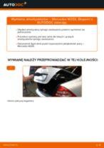 Wymiana: amortyzatorów tył >> Mercedes W203 | Poradnik krok po kroku