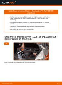 Slik bytter du Bremseskiver på AUDI A6