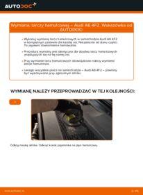 Jak przeprowadzić wymianę: Tarcza hamulcowa w AUDI A6