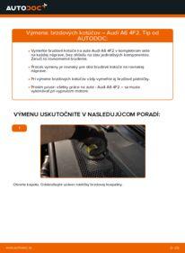 Ako vykonať výmenu: Brzdový kotouč na 3.0 TDI quattro Audi A6 4f2