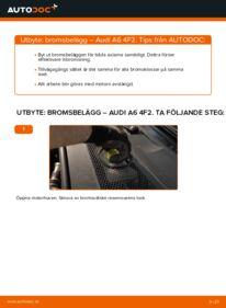 Så byter du Bromsbelägg på 3.0 TDI quattro Audi A6 4f2
