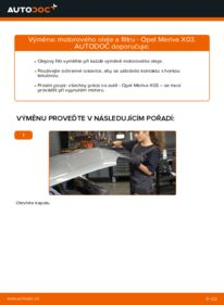 Jak provést výměnu: Olejovy filtr na 1.7 CDTI (E75) Opel Meriva x03