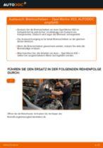 Wie Opel Meriva X03 Bremsscheiben vorne wechseln - Schritt für Schritt Anleitung