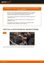 Come cambiare dischi freno della parte anteriore su Opel Meriva X03 - Guida alla sostituzione
