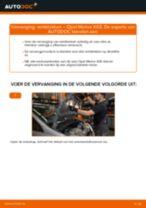 Hoe remblokken vooraan vervangen bij een Opel Meriva X03 – vervangingshandleiding