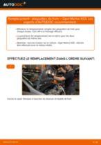 Manuel d'atelier OPEL FRONTERA pdf