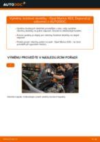 Jak vyměnit přední brzdové destičky na Opel Meriva X03 – návod k výměně
