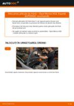Cum să schimbați: plăcuțe de frână din față la Opel Meriva X03 | Ghid de înlocuire