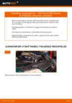 Montering Bremseskiver VW PASSAT Variant (3B6) - steg-for-steg manualer