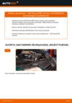 VW PASSAT Jarrulevyt vaihto: ohjekirja