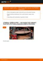 Ako vymeniť vzpěry kufru na VW Passat B5 Variant – návod na výmenu
