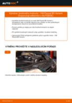 Jak vyměnit přední brzdové kotouče na VW Passat B5 Variant – návod k výměně