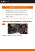 Navodila po korakih za popravilo Passat 3B6