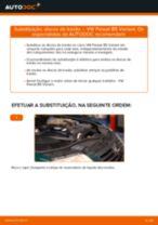 Instalação Discos de travagem VW PASSAT Variant (3B6) - tutorial passo-a-passo
