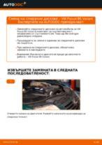 Стъпка по стъпка PDF урок за промяна Спирачен диск на VW PASSAT Variant (3B6)